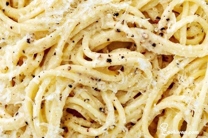 Итальянская паста «Сыр и перец» (Cacio e Pepe)