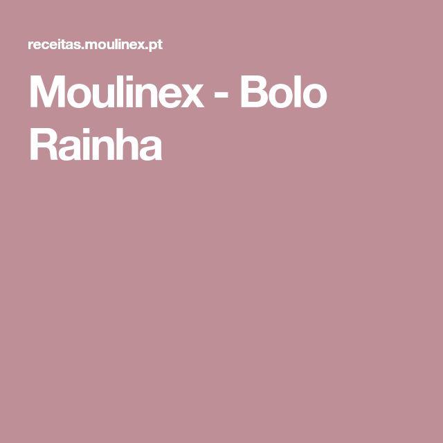 Moulinex - Bolo Rainha