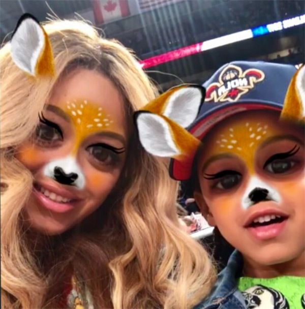 Beyonce's Secret Snapchat Account Confirmed After Photo With Blue Ivy