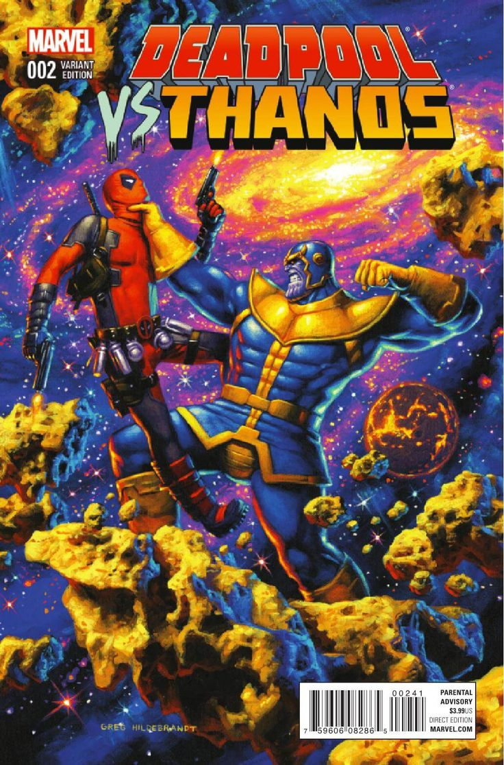 Deadpool vs Thanos