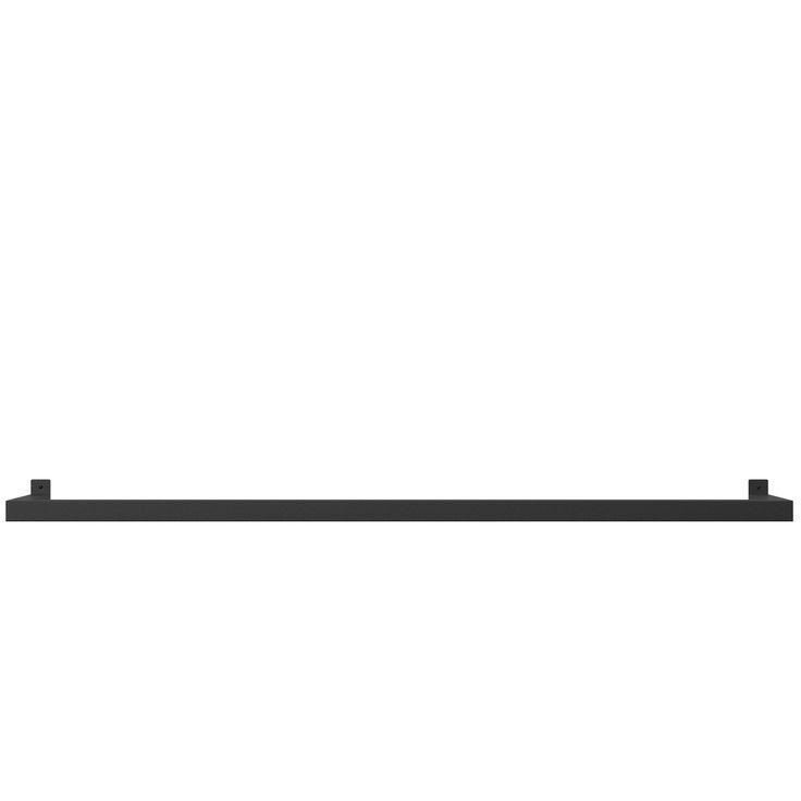 Jetzt bei Desigano.com HangSys L Wandregalsystem Aufbewahrung, Wandregale, Garderoben von NICHBA-DESIGN ab Euro 209,00 € HangSys ist ein elegantes Wandregalsystem, das für MagHang und MagHook von Nichba-Design verwendet werden kann. Das System ist in drei verschiedenen Größen erhältlich: Small, Medium & Large. Es ist einfach mit zwei Schrauben montiert.  Technische Daten: HangSys besteht aus pulverbeschichteten 35 × 35 mm Stahlrohren.  Farbe: Schwarze feine Struktur  Größentabelle und empfoh