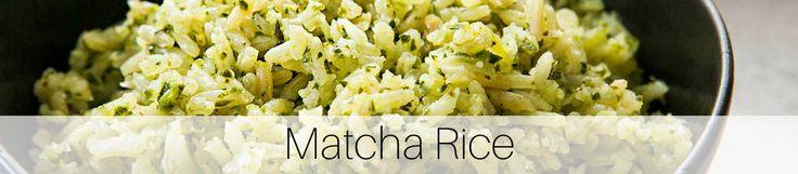 Matcha Rice Recipe