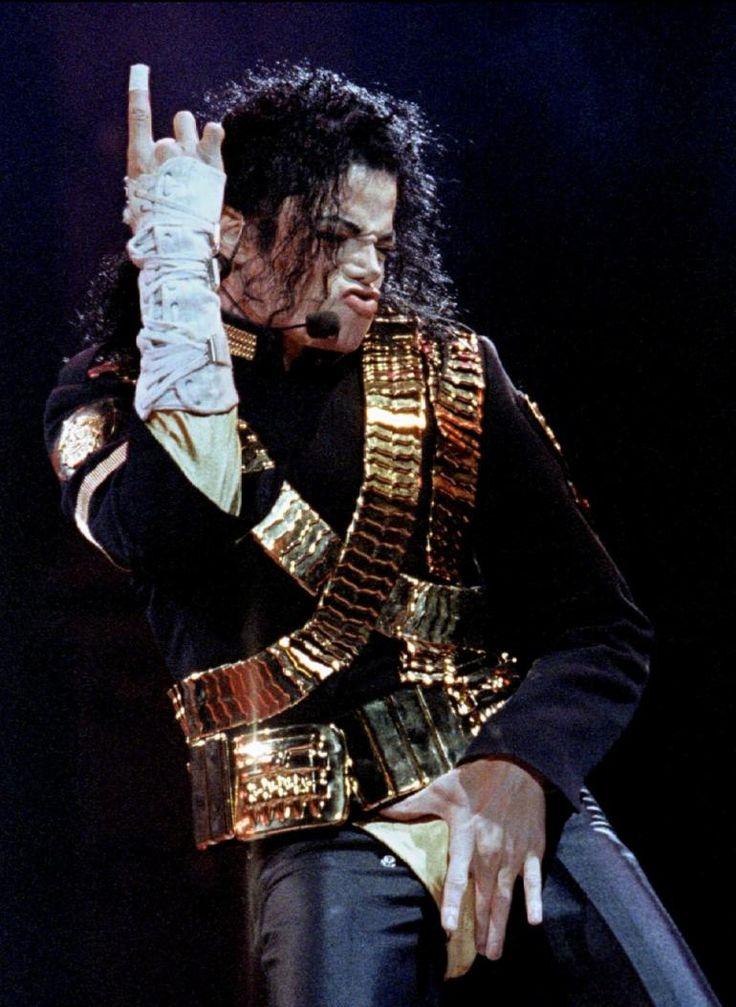 Michael Jackson Dangerous World-Tour
