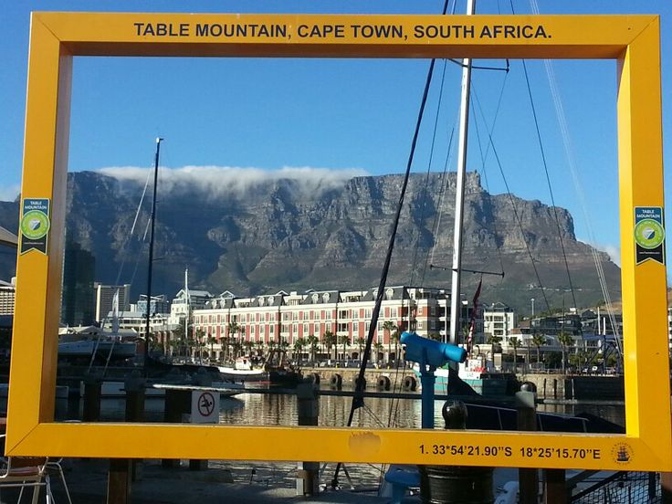 View of Table Mountain from V & A