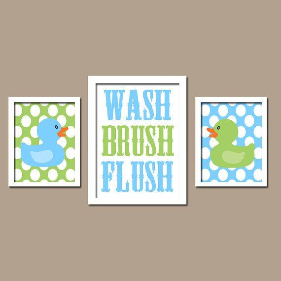 30 best rubber ducky themed bathroom images on pinterest for Bathroom duck decor