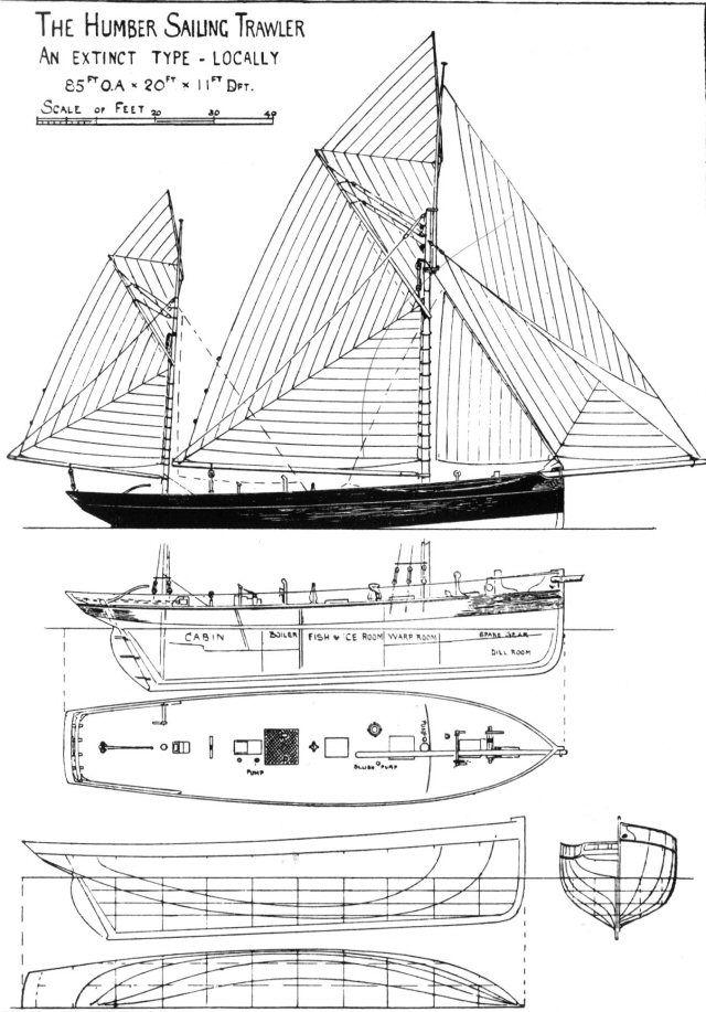 The Humber Sailing Trawler, an extinct type