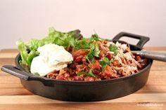 Recept | Bruine Bonen in Bolognese saus