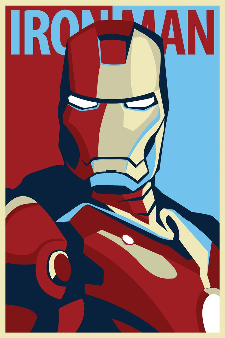 Iron Man has my heart. I will not settle for less... unless you shape your facial hair the right way.
