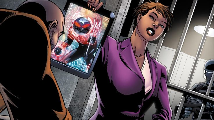Amanda Waller   DC Comics