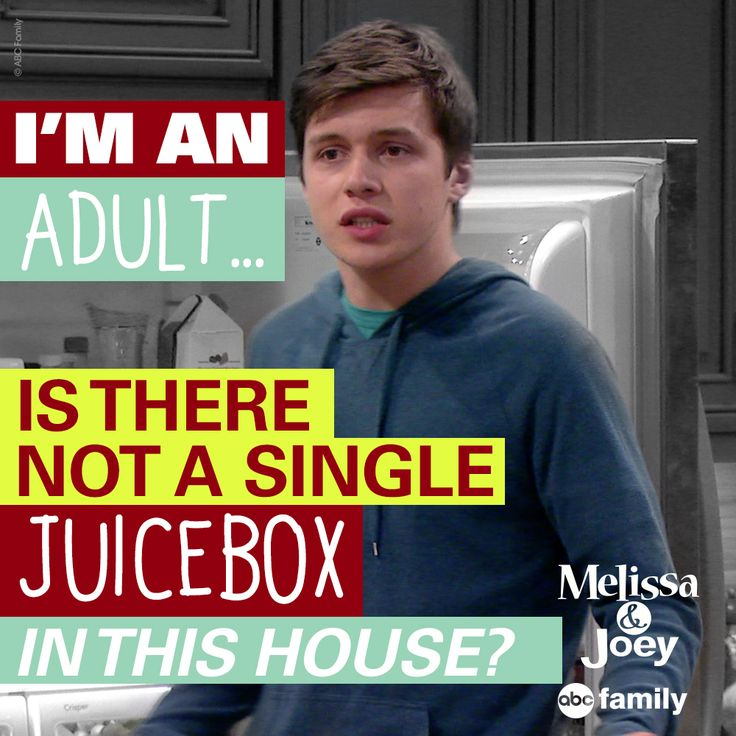 Haha! Ryder, are you sure you're an adult?? xD (Melissa and Joey quotes)