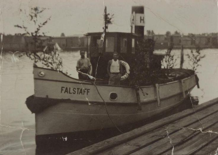 Falstaff, Hackmanin arkisto #höyrylaivat #steamboat