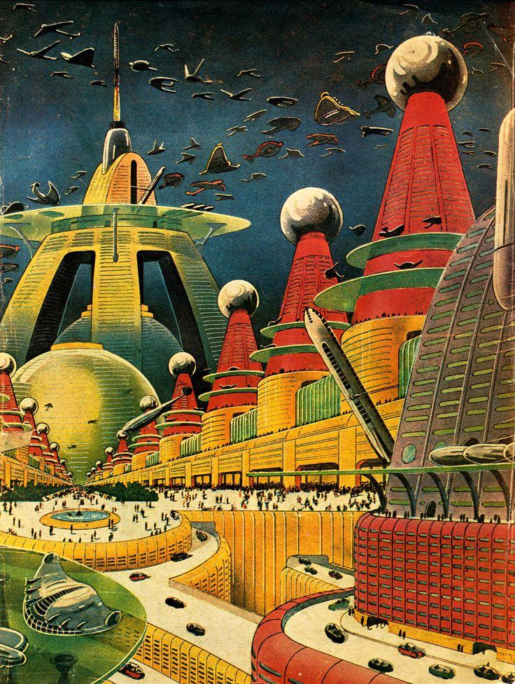 32 best Retro Future Art images on Pinterest