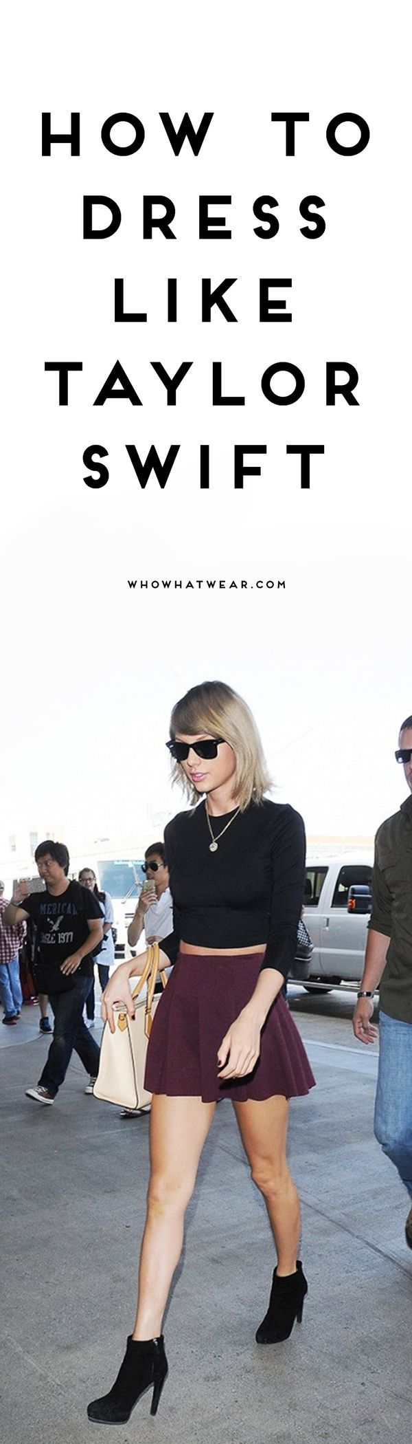 Get Taylor Swift's sophisticated, feminine style