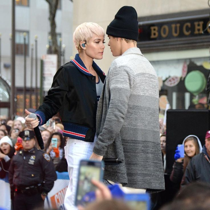 """Did anyone catch Halsey and Justin Bieber on the Today Show this morning? 