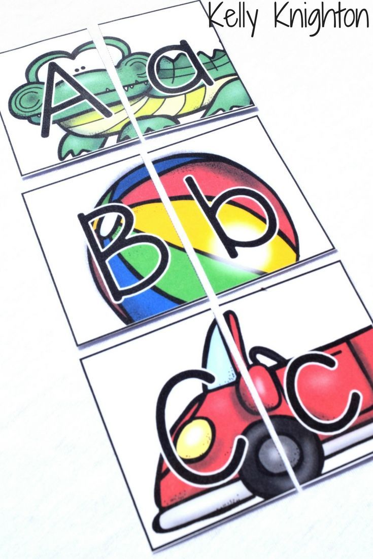 FREEBIE ALERT. ABC Puzzles & Mini Posters. Head on over to my Facebook page and become a fan to grab this freebie!