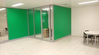 New demountable office partitions in Perth