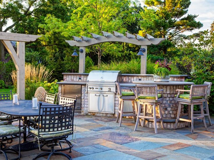 55 Patio Bars + Outdoor Dining Rooms Part 81
