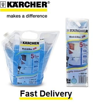 Karcher Wash & Wax Car Shampoo Detergent 500ml Concentrate | eBay