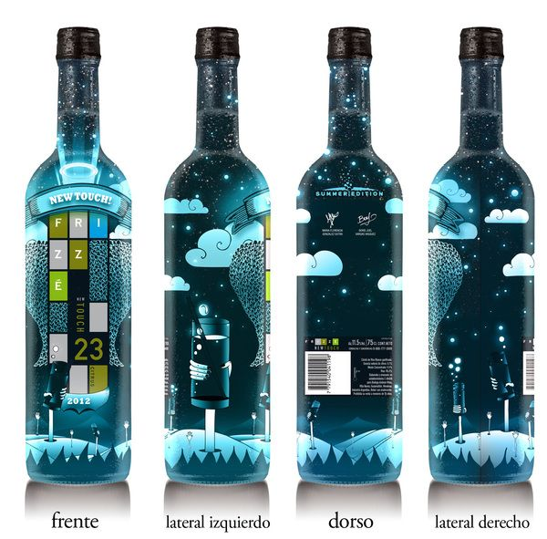 Packaging - Frizzé Summer Edition 2012. by Boris Vargas Vasquez