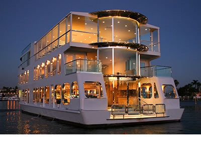 rent a yacht for your wedding ceremony and reception what a fun idea you
