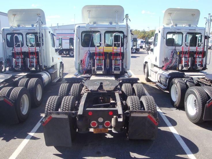 McLane Northeast Ryder Truck Freightliner Cascadia day cab