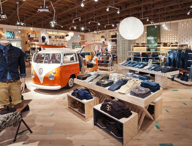 Revisión Interior: Pull & Bear, Nueva Imagen de Tienda