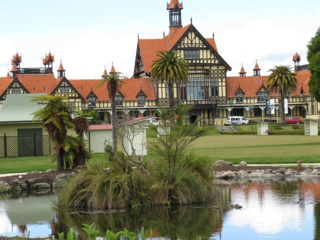 Museum,  Rotarua, New Zealand