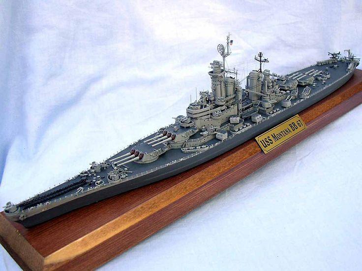 MONTANA CLASS BATTLESHIP USS MONTANA