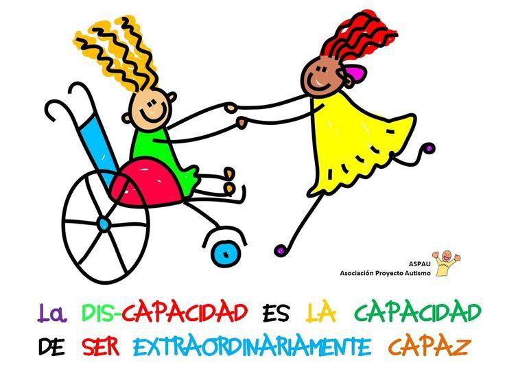 Discapacidad+ASPAU.jpg (1219×913) Un mensaje inspirador de Aspau