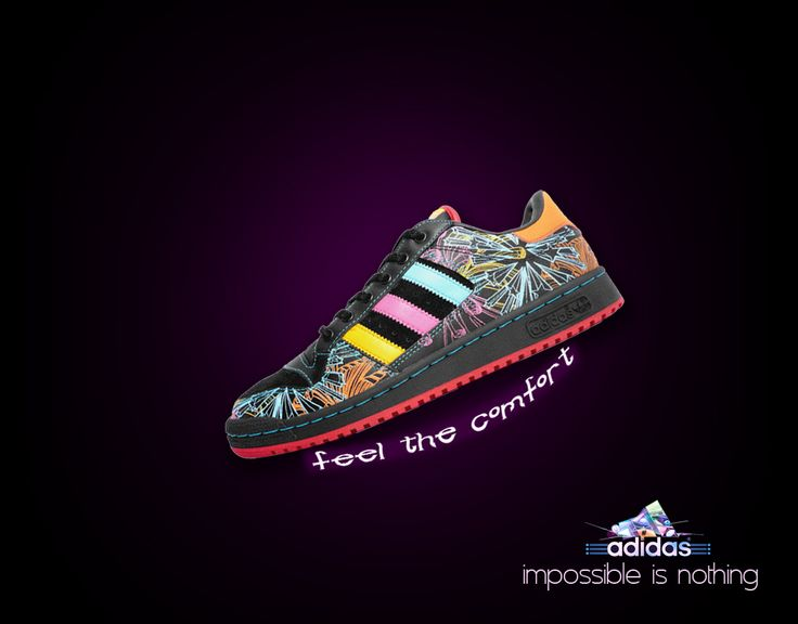 Adidas Shoes Advert