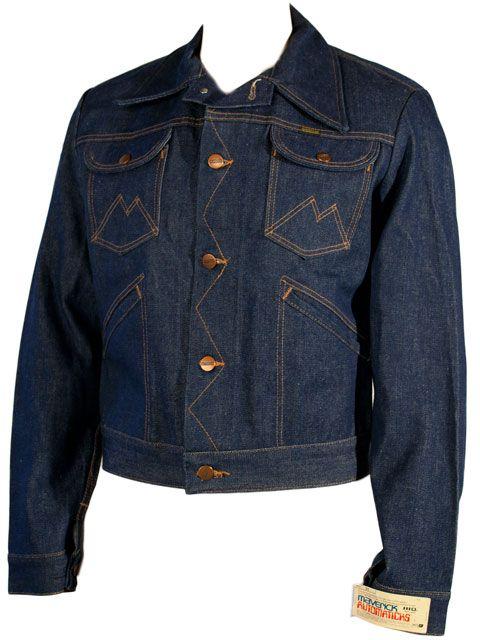 1970s Maverick S Quot Automaticks Quot Denim Jacket Never Worn