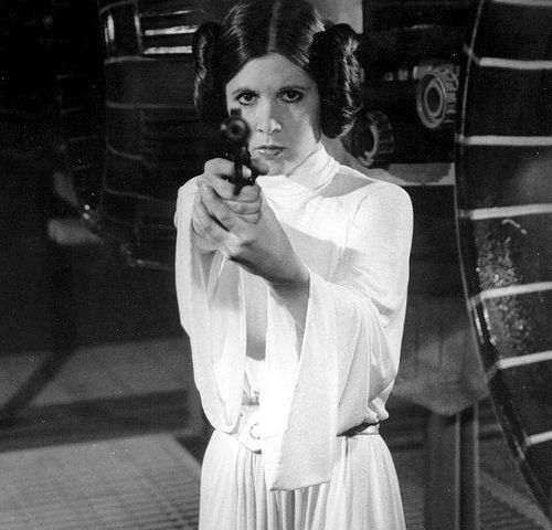 I always wanted to be Princess Leia when we played Star Wars on the playground.