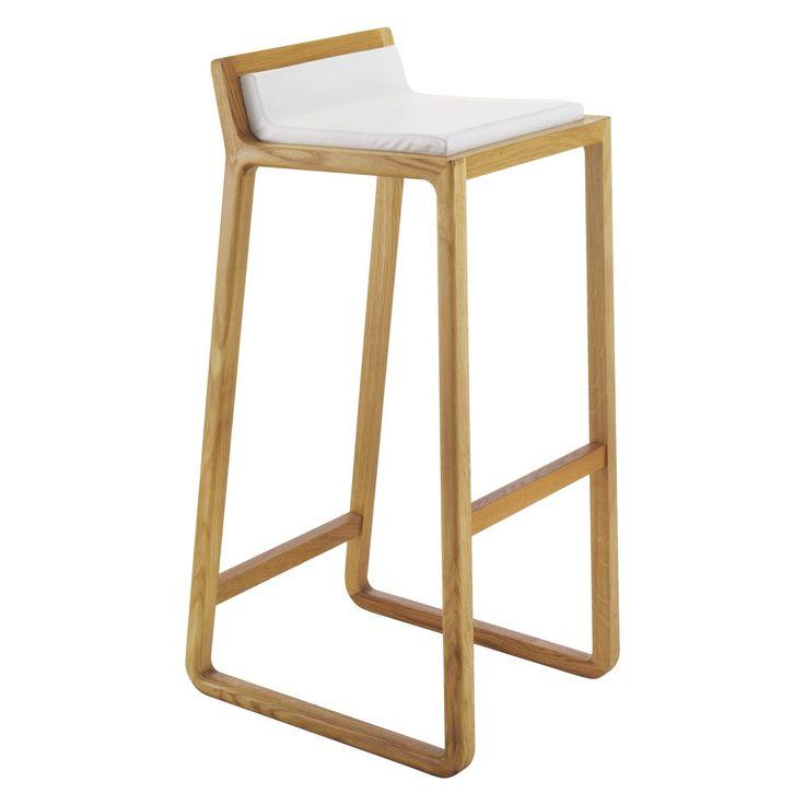 JOE Oak bar stool   Buy now at Habitat UK