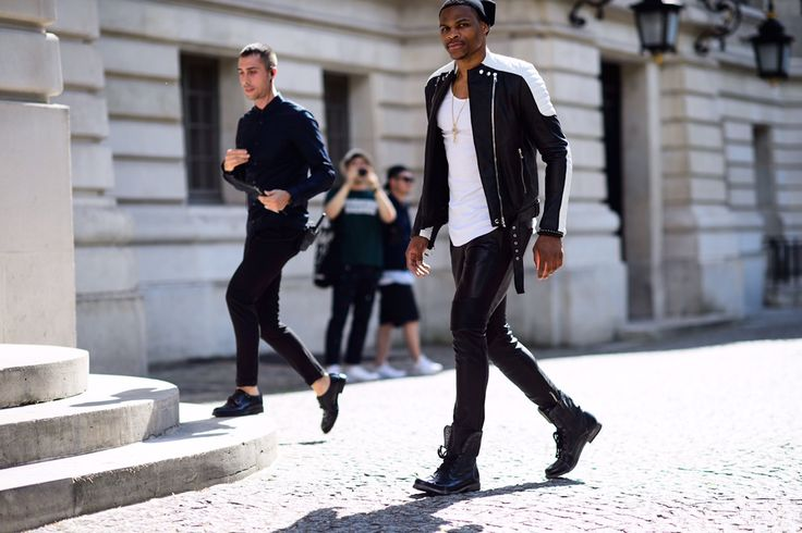 Russell Westbrook continues to make the scene at Paris menswear. Description from morethan-stats.com. I searched for this on bing.com/images