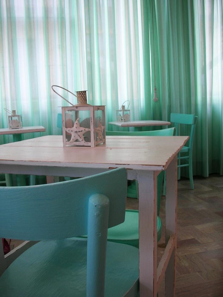 Tavoli per Hotel alice - recupero creativo