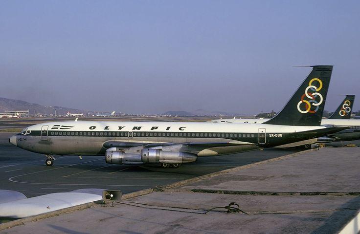 Olympic Airways B 720-051 (Axios River) [SX-DBG]