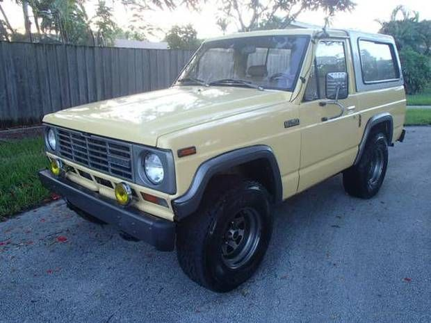 '83 Nissan Patrol ... Columbia import.