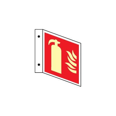 Ildslukker u/tekst, L-skilt