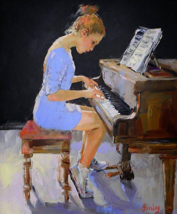 Art Muriel Barclay Piano art, Art music, Musical art