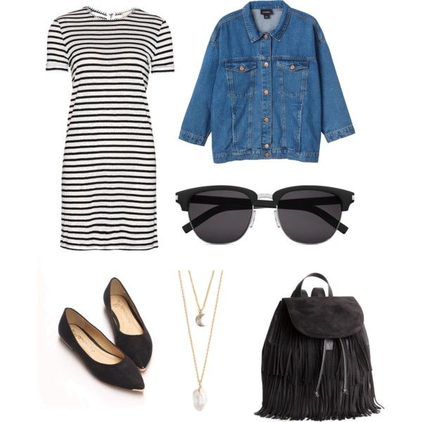 Explore the city by bambyee on Polyvore featuring polyvore, fashion, style, Alice + Olivia, Monki, H&M, With Love From CA and Yves Saint Laurent