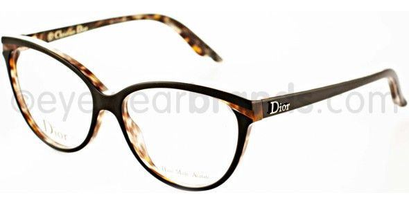 Dior Mens Eyeglass Frames : Dior CD 3243 Dior CD3243 MB5 Black/Panther Dior Glasses ...