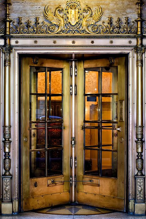 New York City, New York -  Must have at least one revolving door in my collection!!