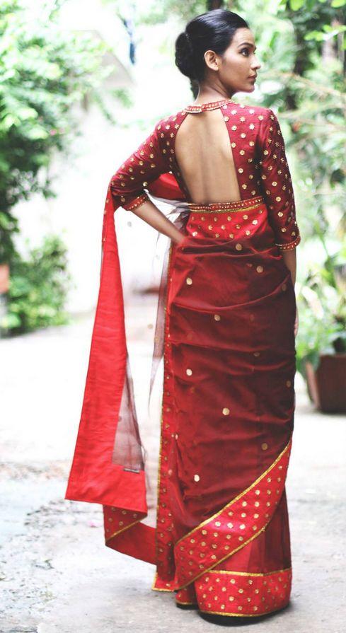 Saree by Priyal Prakash