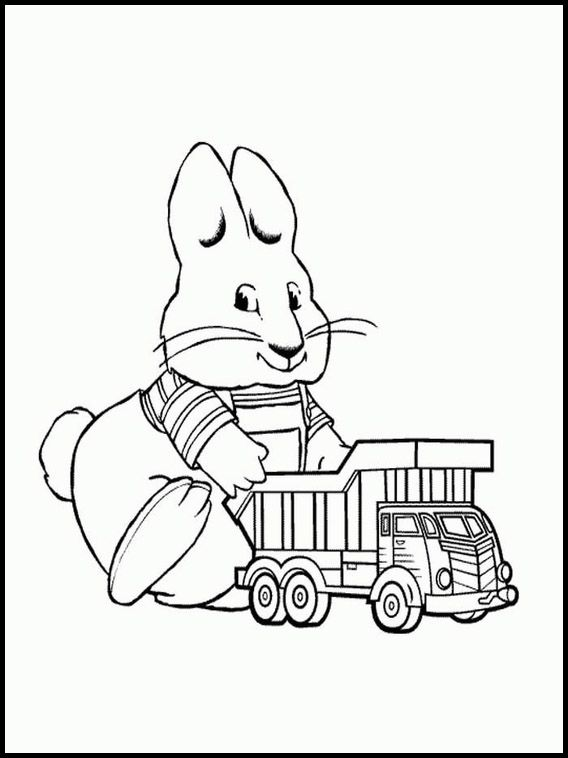 Max And Ruby 5 Printable Coloring Pages For Kids Max And Ruby Coloring Pages Coloring Pages For Kids