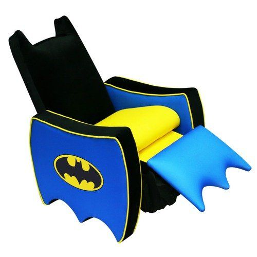 Harmony Kids Warner Brothers Batman Recliner. If only it came in a larger version.