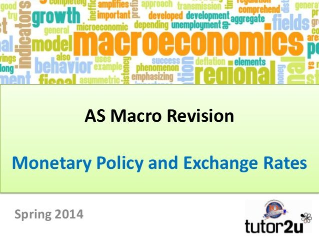 AS Macro Revision: Monetary Policy and Exchange Rates
