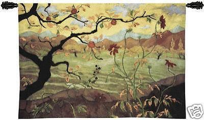 """53""""x38"""" APPLE TREE Fruit ASIAN Tapestry Wall Hanging"""