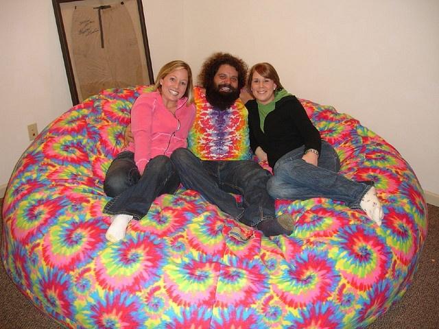 Huge Bean Bag Chair LoveSac Love Sac Comfy Sack Fombag by ComfySacks, via Flickr