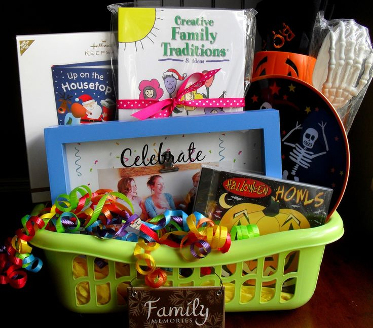 Christmas gift baskets ideas families