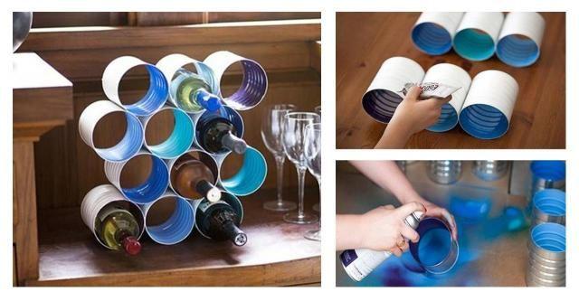 Jak własnoręcznie wykonać elegancki stojak na wino do kuchni? #KROK PO KROKU #ZRÓB TO SAMA #DIY #DEKORACJE #KUCHNIA #WINO #STOJAK